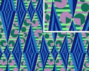 Glow - SAPPHIRE - PER 25CM - Amy Butler - HAPI - PWAB118 - 100% Cotton Quilt Fabric