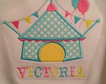 Under the Big Top Circus Shirt