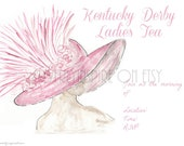 Ladies Tea Invite, Derby ...