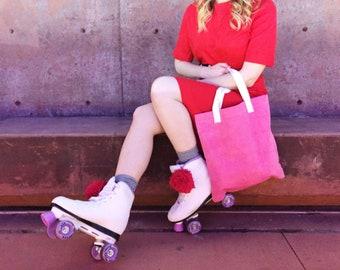 Canvas Tote Bag, Hand Dyed Tote Bag, Everyday Bag, Shopping Bag, Market Bag, Reusable Tote Bag,