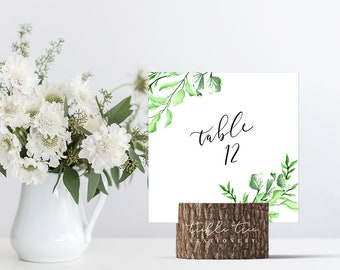 Country Charm - Table Numbers (Style 13798)