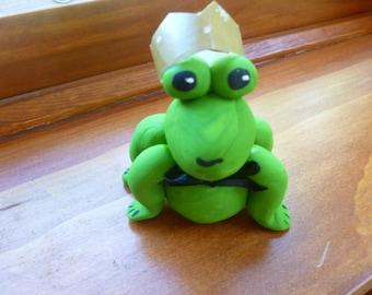 Mini Marble Friend Frog Prince
