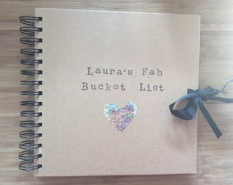 Personalised bucket list