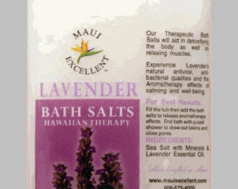 Lavender Essential Oil Bath Salt