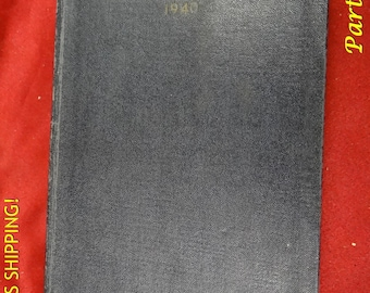 1940 The Bluejackets Manual 10th Ed. U S Navy Training Book Navel Institute WW2