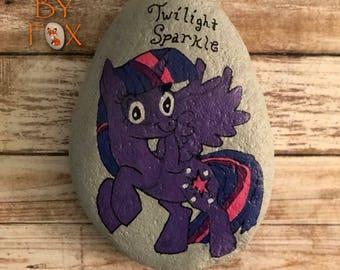 Painted Rock - My Little Pony Twilight Sparkle