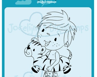 Joep Flippers • 300 PPI Digital Stamp • Digistamp • Instant Download