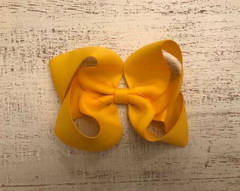 Solid Colors Boutique Twisted Hair Bows