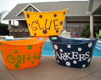 Personalized Storage Bucket