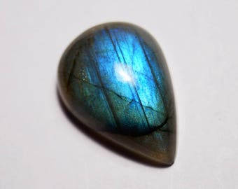 60% OFF - Spectrolite Labradorite loose gemstone, 22x15x7 mm Labradorite Cabochon,Blue Flash Labradorite Gemstone, Labradorite stone (Z-332)
