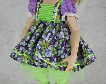 16 inch Kish Doll Outfit, Blueberry Hill