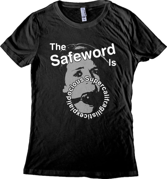 1a56146a98 BDSM Safeword Men's and Women's T-shirts. Funny ball