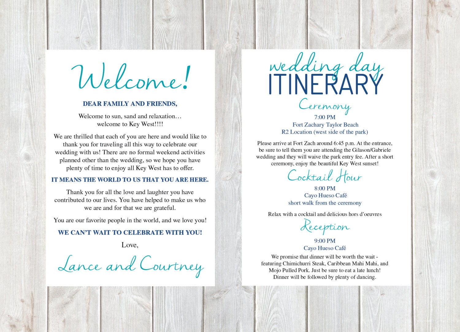 Welcome letter wedding welcome letter wedding itinerary zoom spiritdancerdesigns Image collections