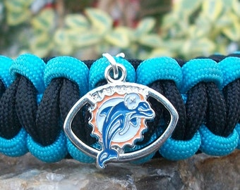 Miami Dolphins Paracord Bracelet