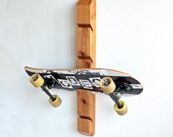 Skateboard Rack, Skate Rack, Board Rack Display Wall Mount Vertical Skate Board & Longboard Rack With 4 slots