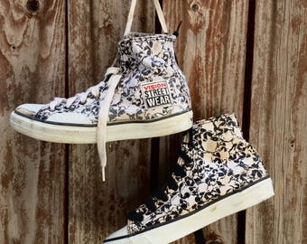 RARE 1987 Vision Street Wear Skull Shoes, Size 6.5