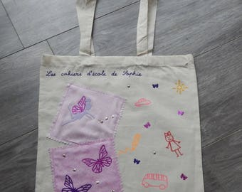 Girl bag to carry school books