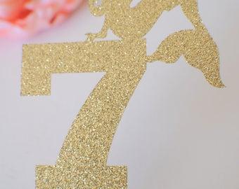 Mermaid Cake Topper, mermaid party, mermaid decoration, mermaid decor, mermaid party decor