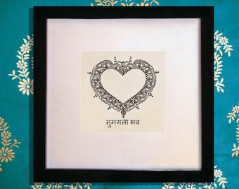Marriage Blessing Wedding Gift