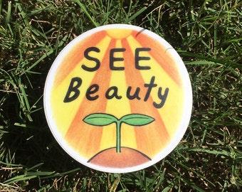 See Beauty Sticker