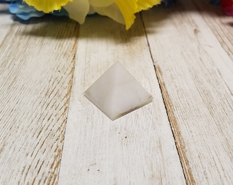 Quartz Gemstone Mini Pyramid - Stone of All Power