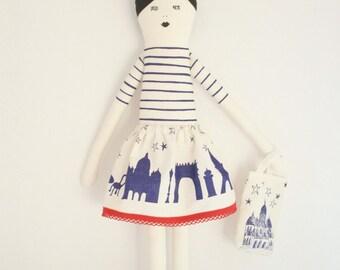 I love Paris doll Kit