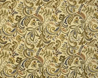 Findlay Saddle Floral Scroll Fabric