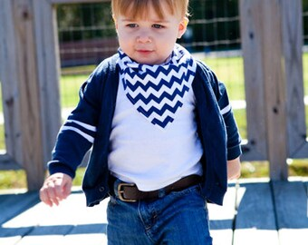 PICK ANY 4 Baby Bandana Bibs - 4 Baby Drool Bibs - Choose your own fabric!
