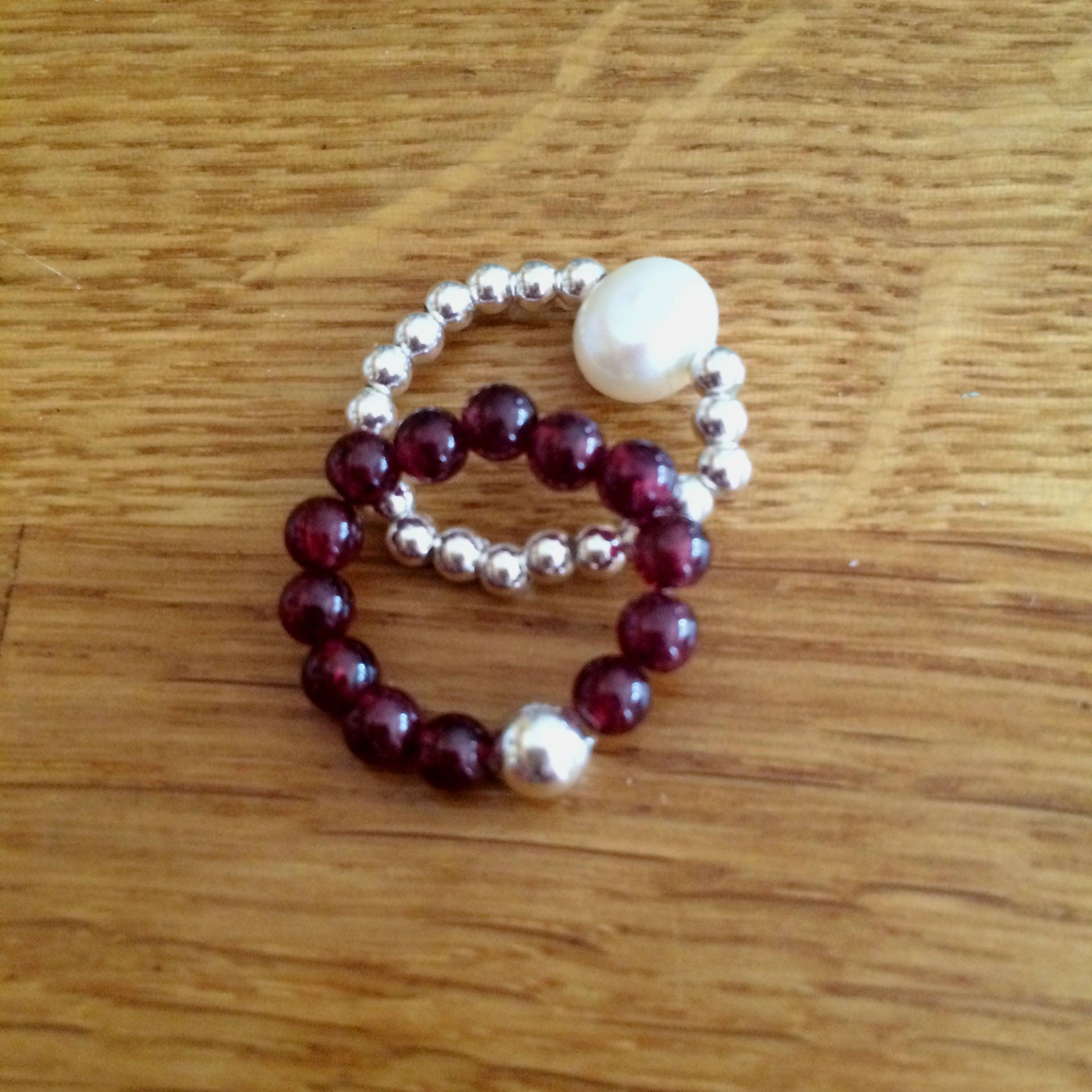 garnet bracelets birthstone lea january of spirit red img bracelet collections stack