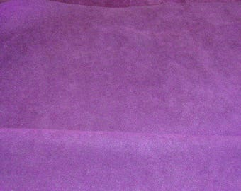 Maroon / Purple  Microsuede Fabric  45'' Sold by the Yard