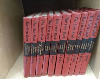 The First Book Library 10 book set p.1950- 1958 with free shipping in the US