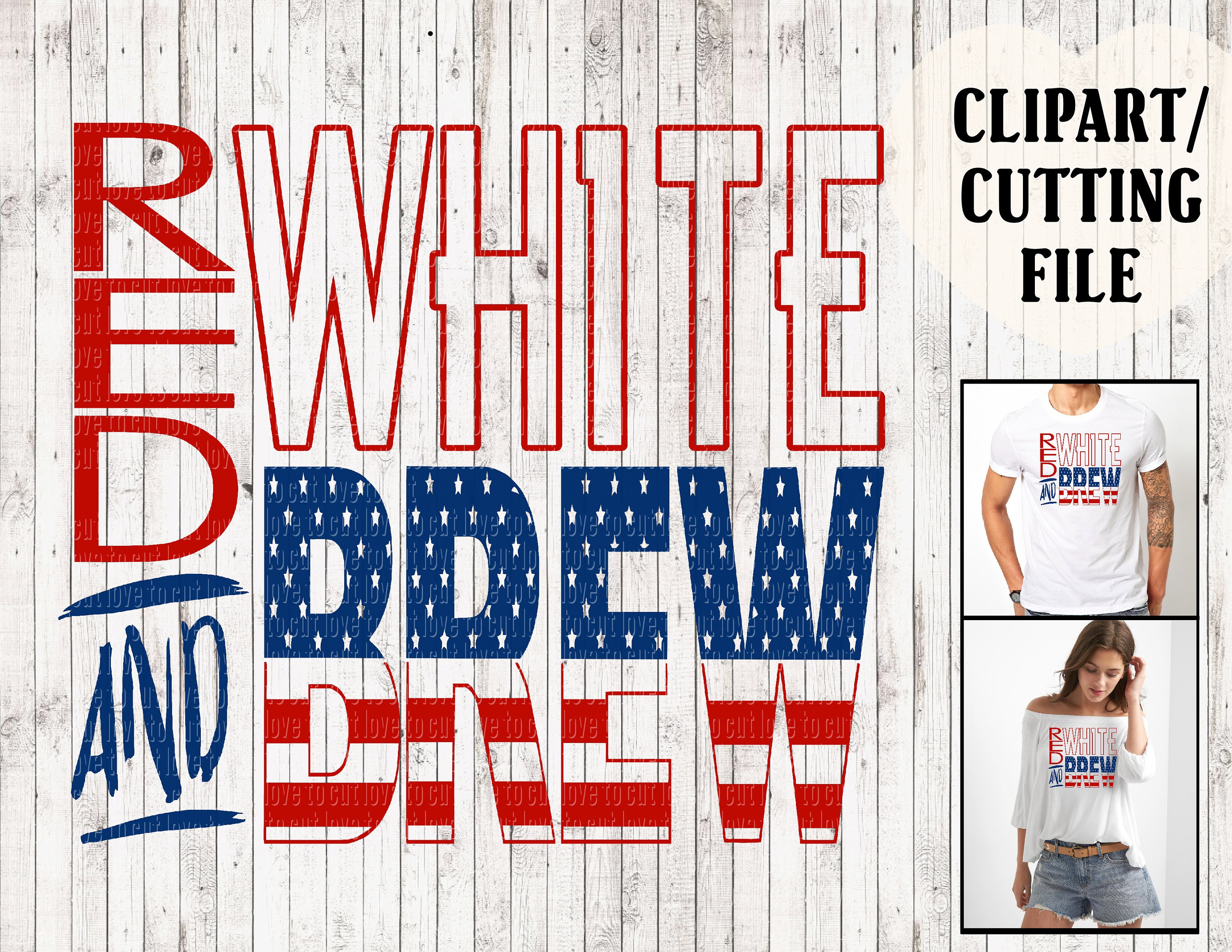 red white and brew svg files 4th of july svg fourth of july - photo#34