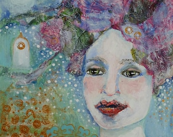 """ACEO Art Reproductions, Art cards, collectibles, 2.5"""" x 3.5"""", Open Edition, trading cards, archival"""