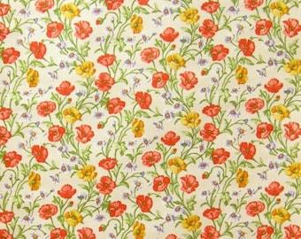 Vintage Wallpaper Feldblumen per meter