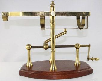 Old Mechanical bottle cradle, decanting cradle
