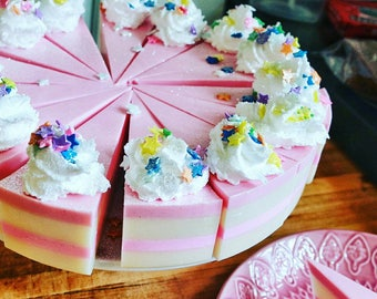 Birthday Cake Soap sale best friend gift handmade baby shower bridesmaid gift for women mom mothers day unique bachelorette sister