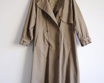 Vintage soft cloth coat/vintage cloak of soft cloth