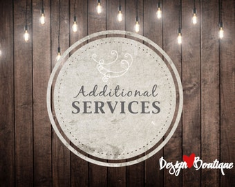 Additional Services from DesignBoutiq - Edit template