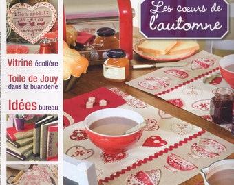 Magazine cross stitch - by little N 65 - heart - pattern
