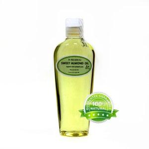 8 OZ Pure Organic Sweet Almond Oil 100% Pure
