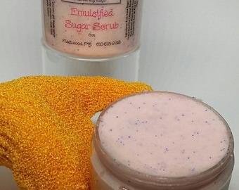 Emulsified Sugar Scrub 4oz