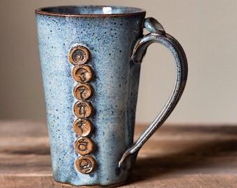 Yoga Chakra Mug - Coffee or Tea Mug for the Yogi in your Life: namaste OM