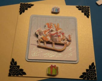 3D 964 hand made greeting card