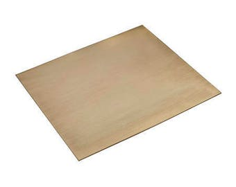 "Red Brass Sheet 6x6"" TILE ***24 Gauge"