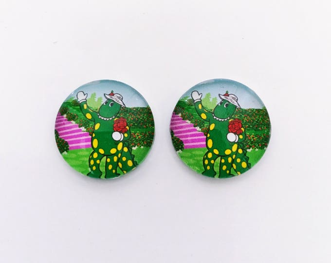 The 'Dorothy' Glass Earring Studs