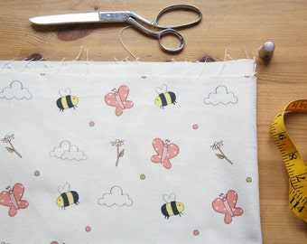 Meadow© Print Fabric - Upholstery Cotton Fabric Floral Print