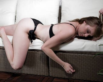 Model laying down