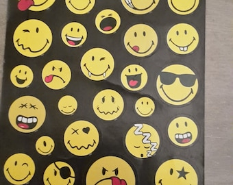 Smiley stickers stickers