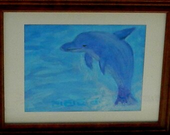 Dolphin and the Deep Blue Sea