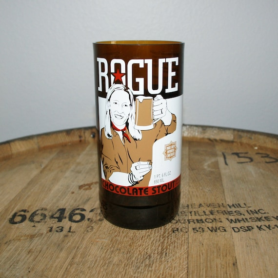 UPcycled Pint Glass - Rogue Ales - Chocolate Stout